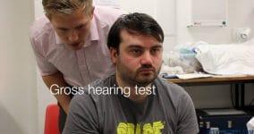 Gross hearing