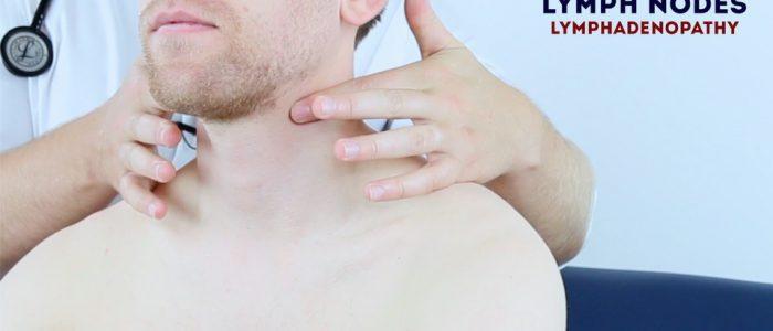 Lymph node palpation