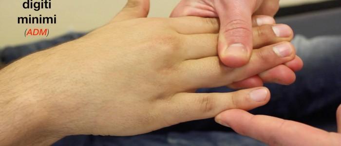 Finger ABduction - abductor digiti minimi (T1)