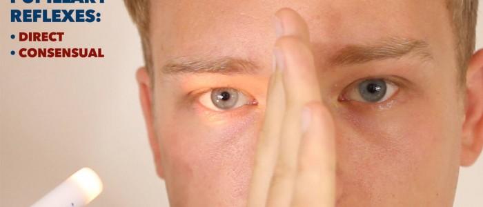 Pupillary reflexes