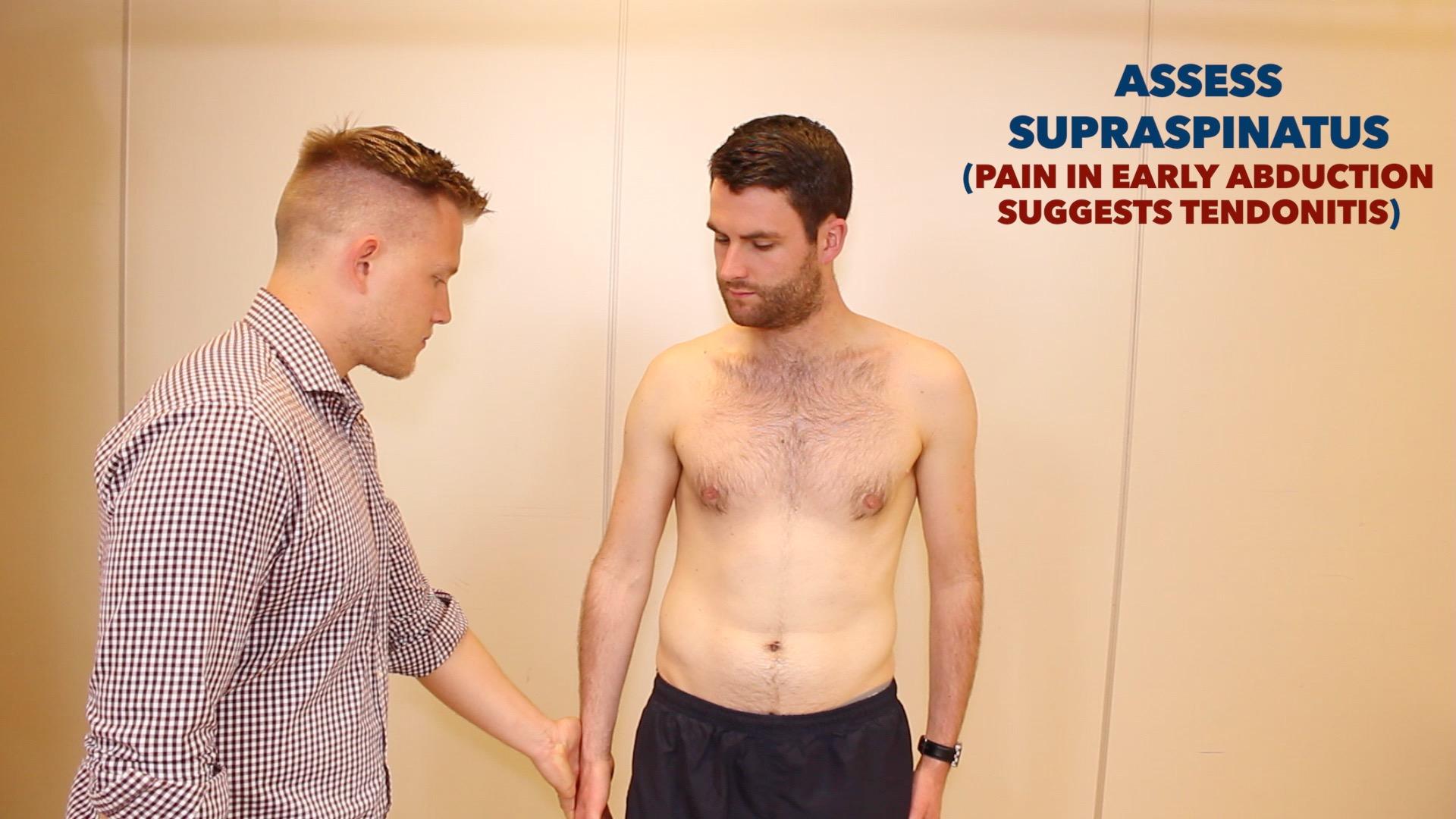 Shoulder examination - OSCE Guide | Geeky Medics