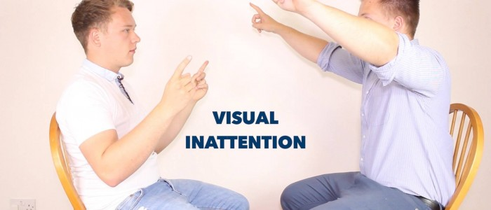 Visual inattention