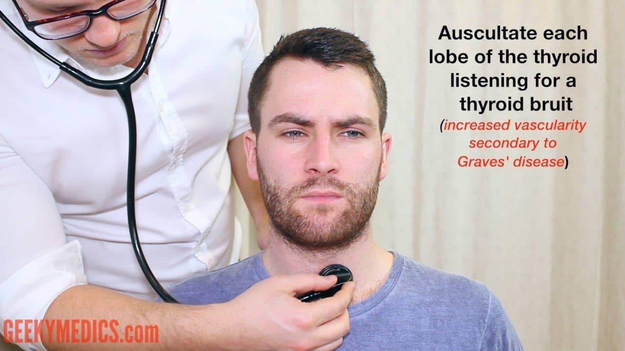 Thyroid Status Examination - OSCE Guide | Geeky Medics