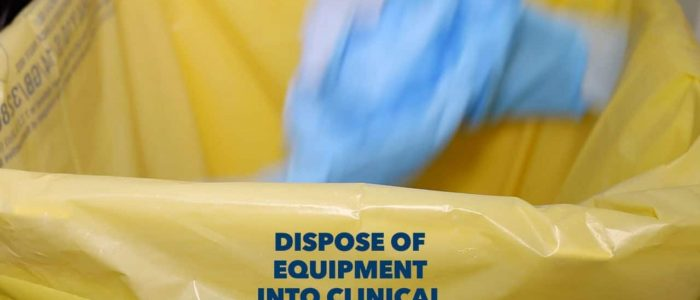 Dispose of equipment