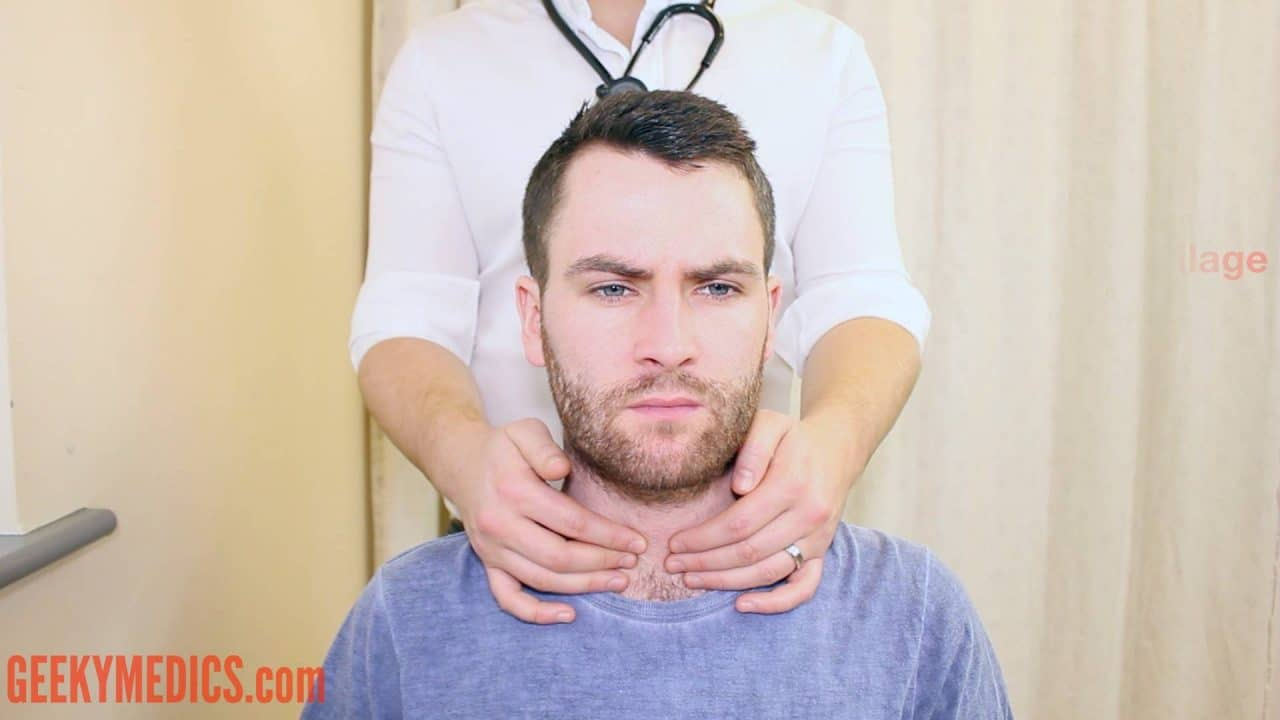 Neck Lump Examination Osce Guide