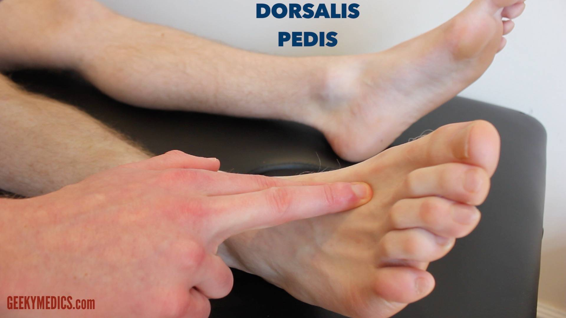 Dorsalis Pedis Pulse Diabetic Foot E...