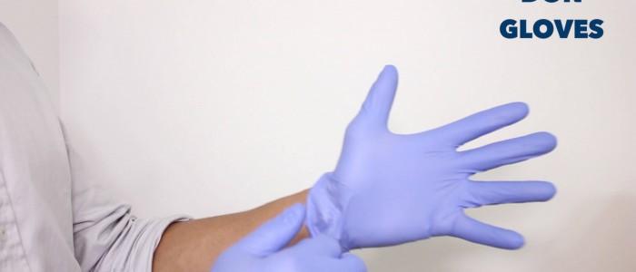 Don gloves