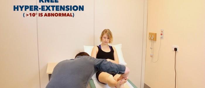 Knee Joint Hyperextension
