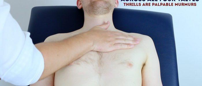 Thrills cardiac exam