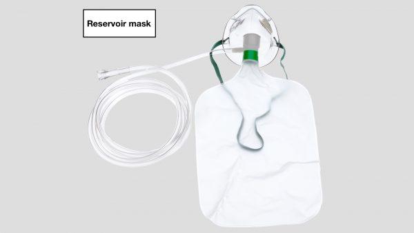 Reservoir mask