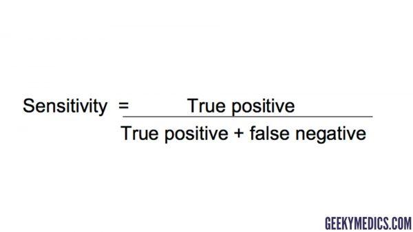 Sensitivity equation
