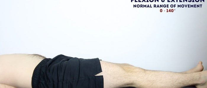 Active Knee Flexion and Extension
