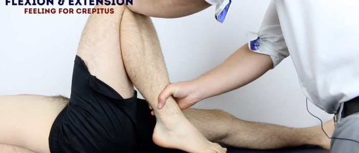 Passive Flexion Knee Exam