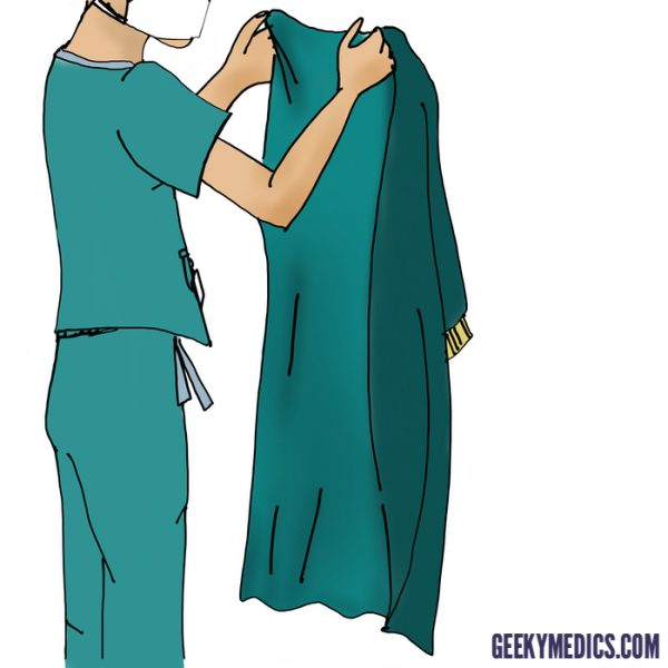 Pick up gown