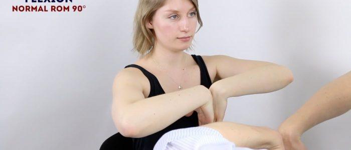 Active wrist flexion