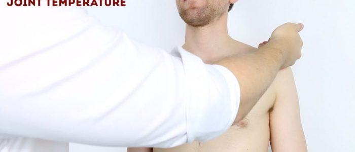 Joint temperature shoulder