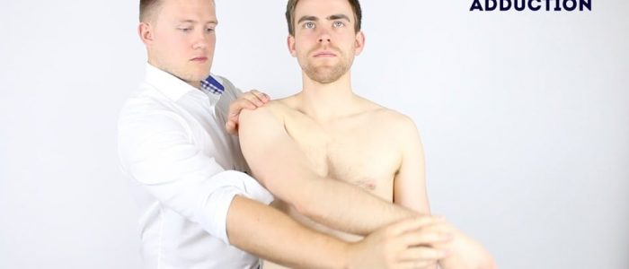 Passive shoulder ADduction