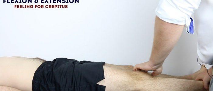 Passive knee extension