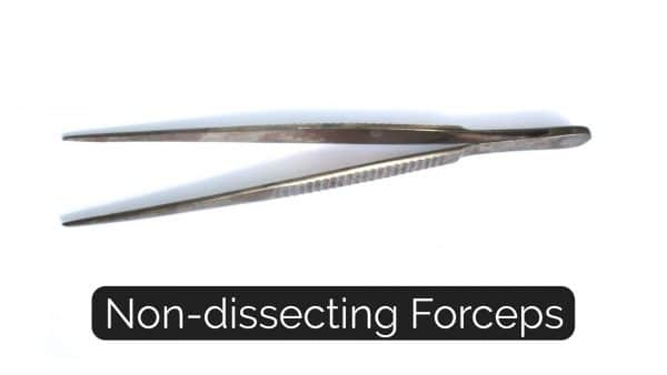 Non-Dissecting Forceps