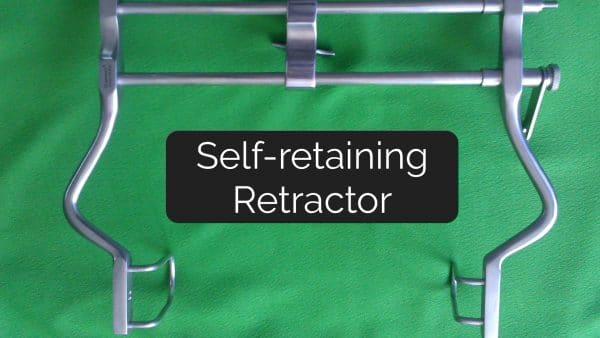 Self-Retaining Retractor