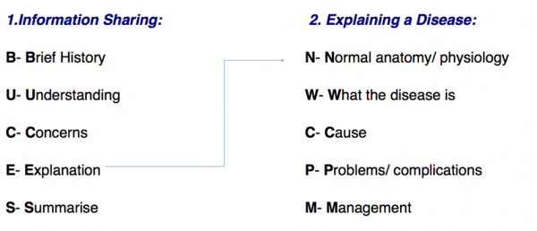 BUCES structure for explaining a diagnosis of epilepsy