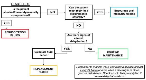 Intravenous (IV) Fluid Prescribing in Paediatrics